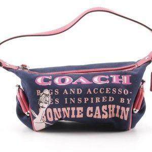 RARE Coach Bonnie Cashin Canvas & Leather Purse